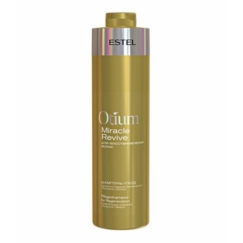 Шампунь-уход для восстановления волос Otium Miracle Revive Estel, 1000 мл.