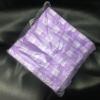 Салфетки одноразовые сиреневые 20*20 см, пачка 100 шт. (спанлейс 30)
