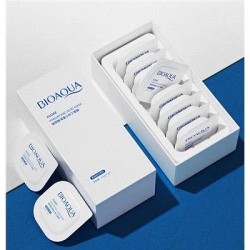 Маска для лица Algae Hyaluronic Acid Mask Bioaqua 7,5 гр*8 шт.