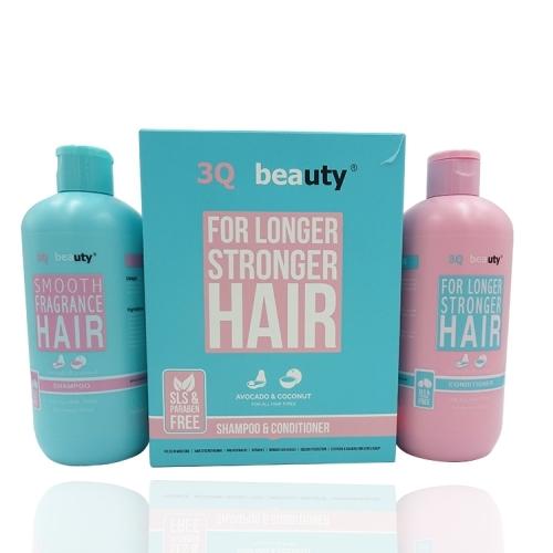 Набор шампунь и кондиционер 3Q Beauty For Longer Stronger Hair (2*350 мл)