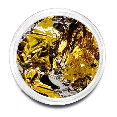 Фольга поталь золото/серебро 01
