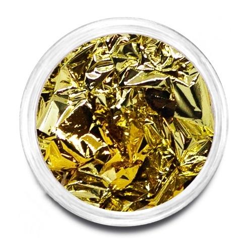 Фольга поталь золото/платина 03