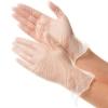 Перчатки виниловые прозрачные S Deltagrip, 100 шт.