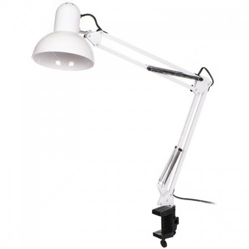 Лампа настольная для идеальных бликов белая
