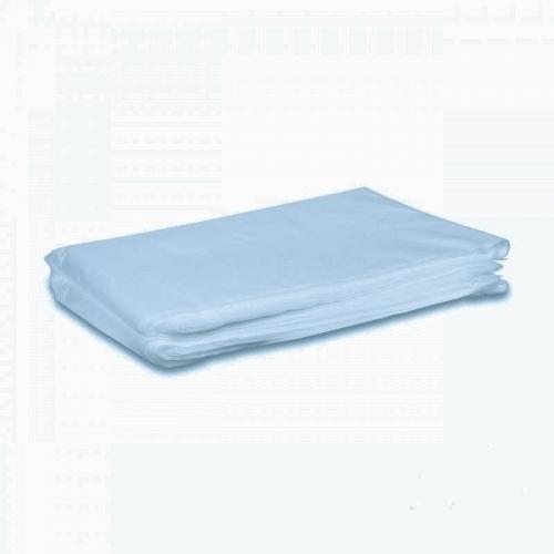 Простыни одноразовые голубые 70*200 см SMS 15, пачка 10 шт.