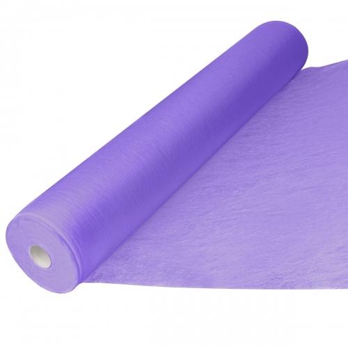 Простыни одноразовые фиолетовые 70*200 см с перфорацией SMS 15, рол 100 шт.