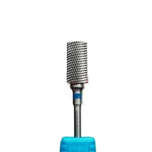 Фреза твердосплав цилиндр синяя