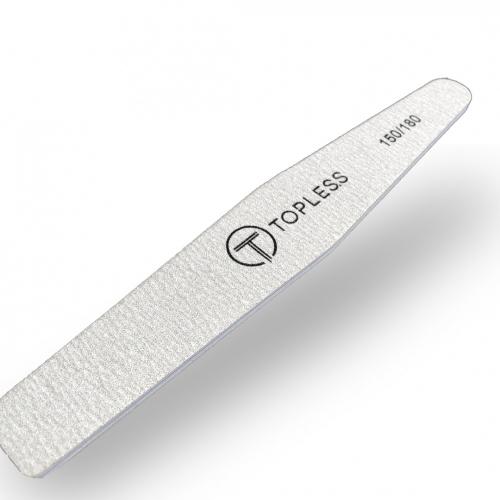 Пилка для ногтей серая ромб 150/180 Topless Proff