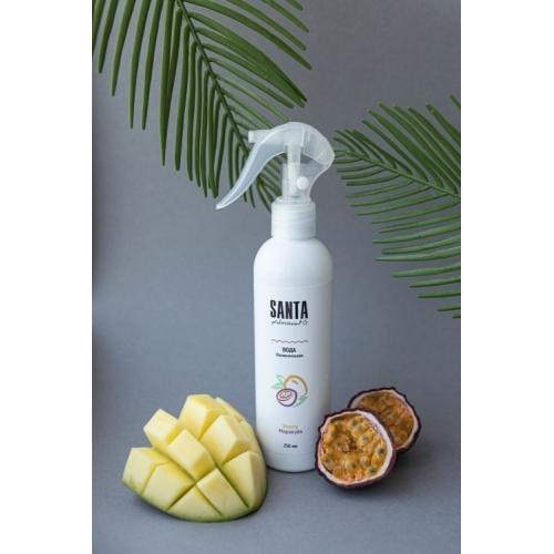 Вода косметическая после депиляции манго-маракуйя Santa Professional, 250 мл.