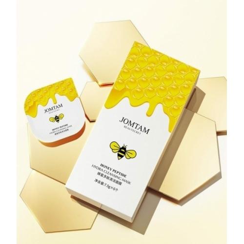 Ночная маска для лица с медом и пептидами Jomtam 7,5 гр*6 шт.