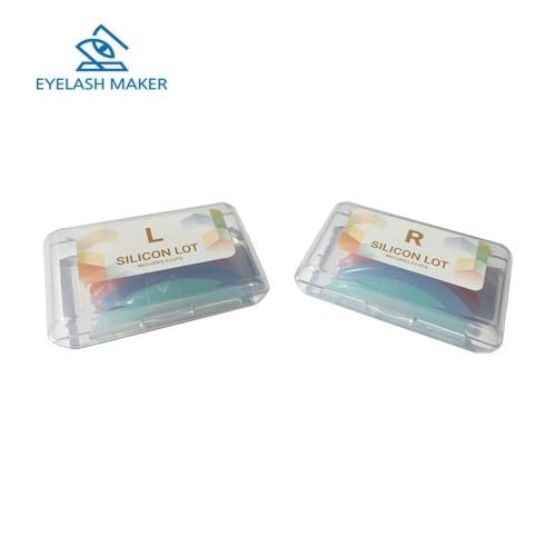Бигуди для ламинирования ресниц силикон, набор 5 пар (XS, S, M, L, XL)