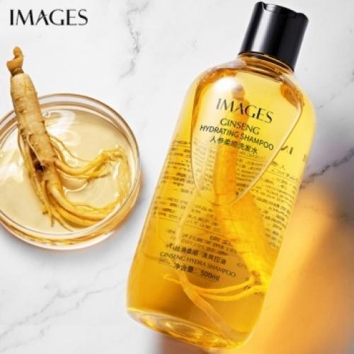 Увлажняющий шампунь против перхоти с женьшенем Images, 500 мл.