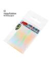Фольга битое стекло «Broken Glass» PNB 02 Happy Rainbow Веселая радуга – прозрачный, радужный