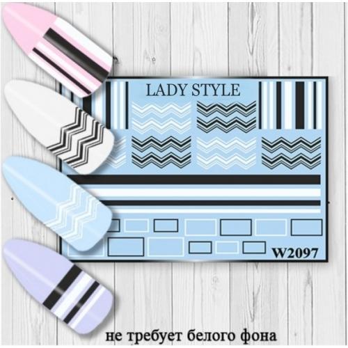 Слайдер дизайн W2097 Lady Style